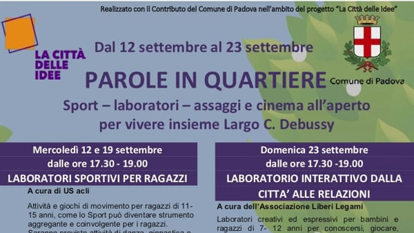 Parole in quartiere 2018-3