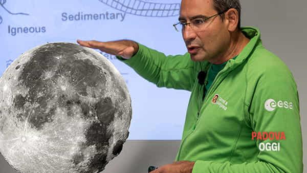 """""""Il prossimo passo"""": geologia e futura esplorazione lunare, Matteo Massironi a Palazzo Zacco"""