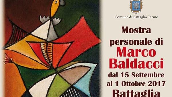 Personale di Marco Baldacci a Battaglia