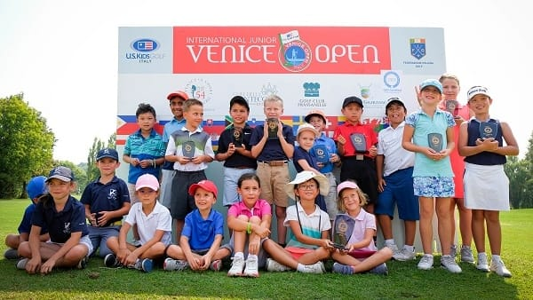 Piccoli golfisti premiati all'U.S. Kids Venice Open