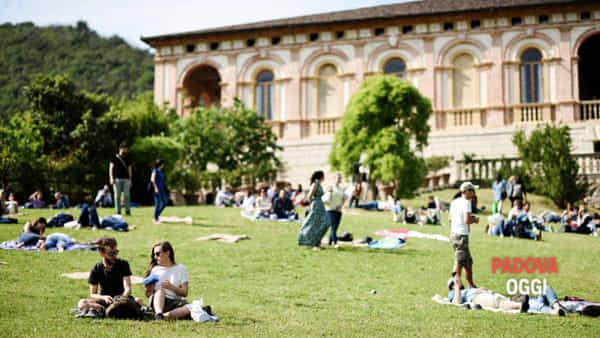 Pic nic di Ferragosto in Villa dei Vescovi a Luvigliano di Torreglia