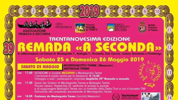 """XXXIX edizione di Remada """"a Seconda"""" 2019"""