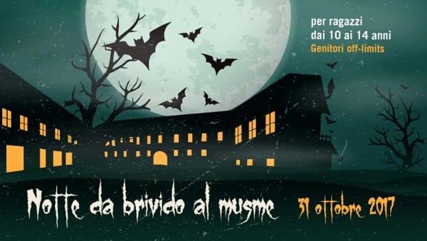 """""""Notte da brivido al Musme"""", caccia al tesoro e pernottamento per bambini ad Halloween"""