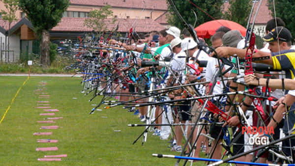 Weekend di gare tiro con l'arco Sagittario del Veneto a Pernumia