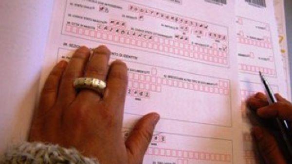 Scambio di persona al test dìitaliano per la carta di ...