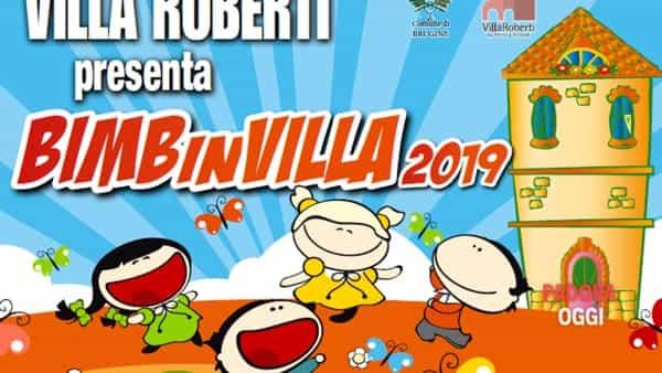"""BIMBinVILLA Roberti: """"I mitici giochi mitici"""", attività per bambini a Brugine"""