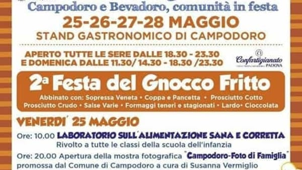 Festa del gnocco fritto a Campodoro