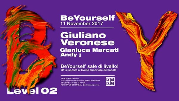 Be Yourself sale di livello | Giuliano Veronese-2