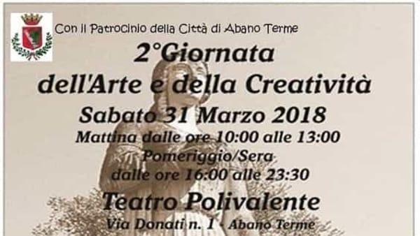 Giornata dell'arte e della creatività con l'associazione La Fucina delle Idee ad Abano