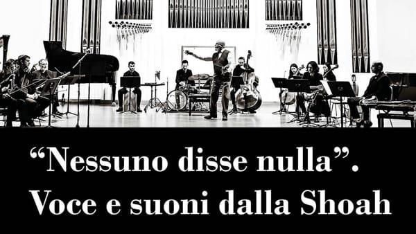 """""""Nessuno disse nulla"""", spettacolo al Verdi per Giorno della Memoria"""