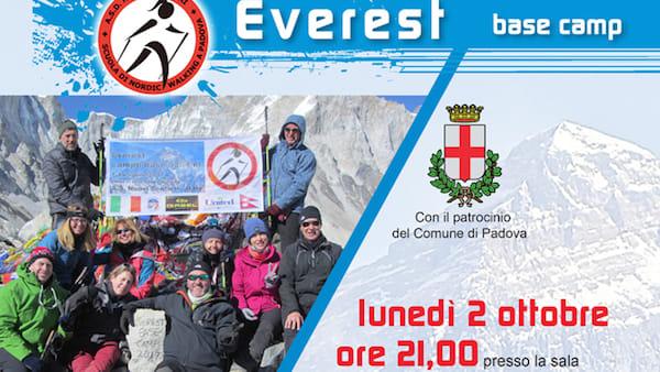 """""""Campo base Everest"""" presentazione del trekking in Nepal alla Fornace Carotta"""