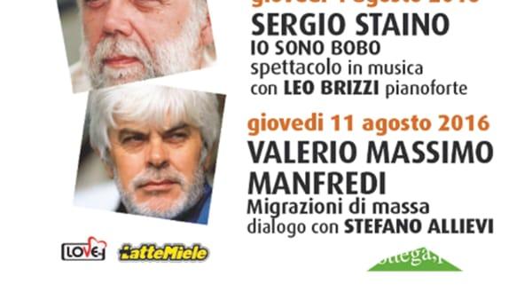 """Parole d'autore: Valerio Massimo Manfredi con """"Migrazioni di massa"""" a Montegrotto Terme"""