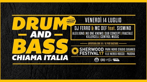 Drum and Bass Chiama Italia a Sherwood