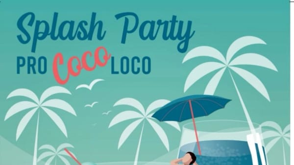 Pro Coco Loco Splash Party, festa in piscina a Montagnana