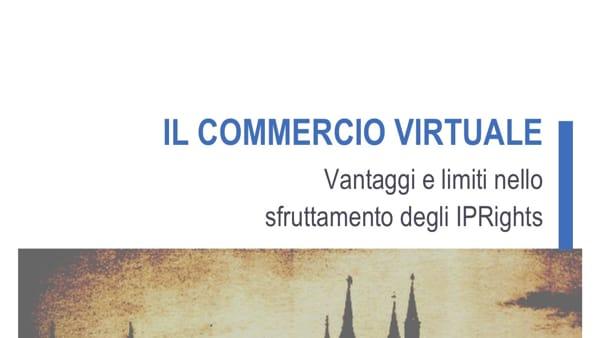 """""""Il commercio virtuale"""": vantaggi e limiti, incontro al Pedrocchi"""