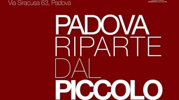 """Convegno """"Padova riparte dal piccolo"""" alla Fornace Carotta"""