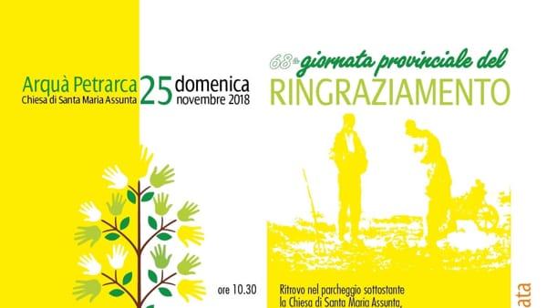 Giornata Provinciale del Ringraziamento ad Arquà Petrarca