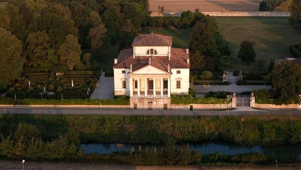Visita a villa Molin e il giardino all'italiana