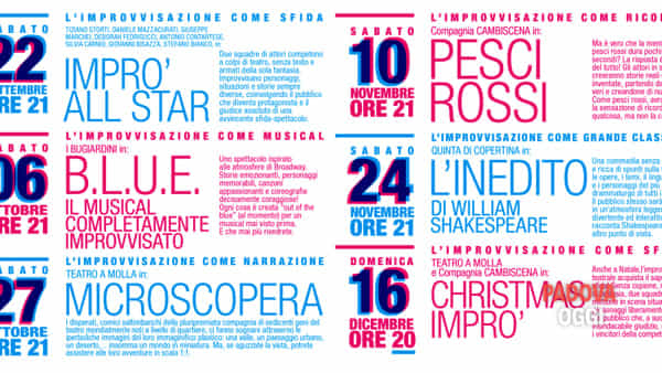 improvvisaz teatrale 2018 - impro' all star -