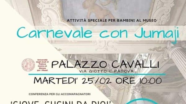 Carnevale con Jumanji a Palazzo Cavalli