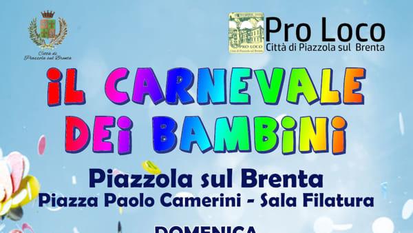 Carnevale per bambini a Piazzola sul Brenta