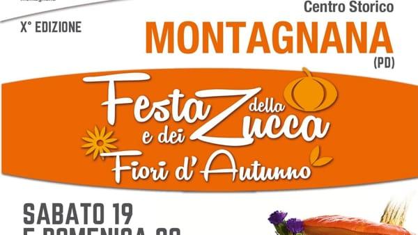 Festa della zucca e fiori d'autunno a Montagnana