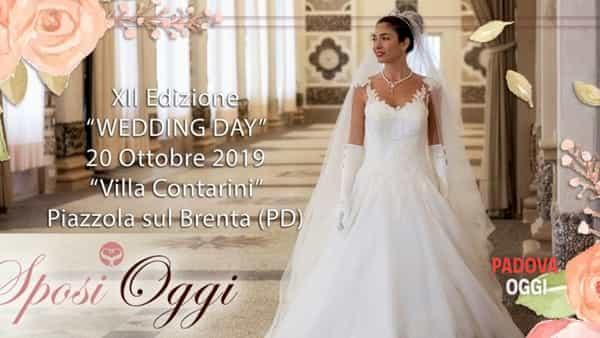 """La fiera """"Sposi oggi"""" a Villa Contarini di Piazzola sul Brenta"""