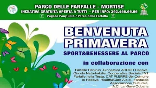 """Sport e benessere al Parco delle Farfalle con """"Benvenuta primavera"""""""