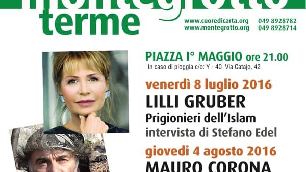 """Parole d'autore: Lilli Gruber con """"Prigionieri dell'Islam"""" a Montegrotto Terme"""