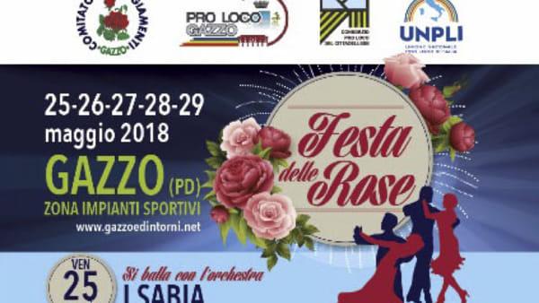 Festa delle rose a Gazzo Padovano