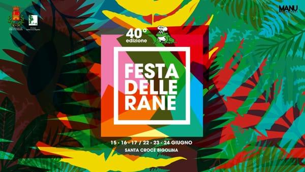 40esima Festa delle Rane a Santa Croce Bigolina