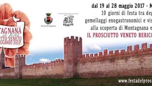Montagnana in festa 2017, prosciutto veneto Berico-Euganeo D.O.P.