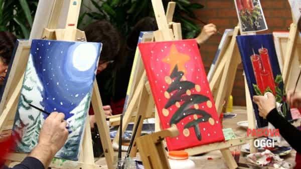"""""""Dipingiamo il calore del Natale"""" a Sant'Elena"""