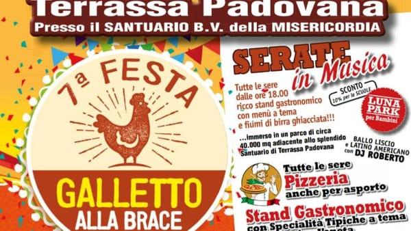 Festa del galletto alla brace e Western show a Terrassa Padovana