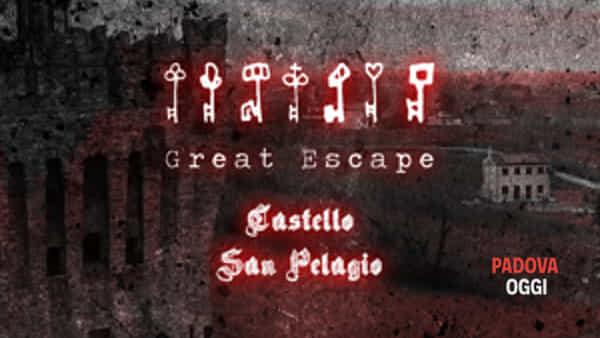 """Escape Tower """"Alchimia"""" al Castello di San Pelagio di Due Carrare"""