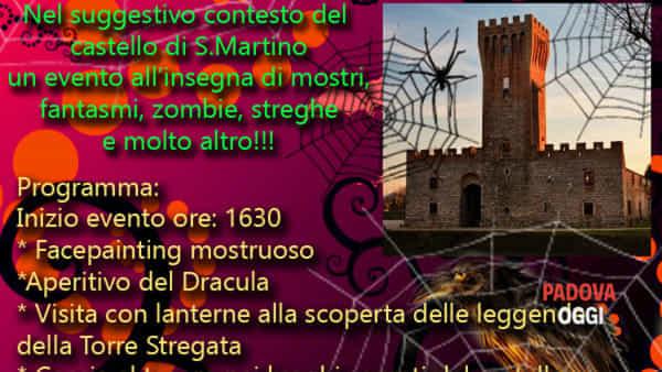 Halloween al Castello di San Martino della Vaneza di Cervarese