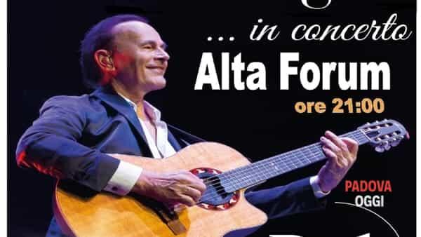 """Dodi Battaglia in concerto a Campodarsego con le sue """"Perle"""""""