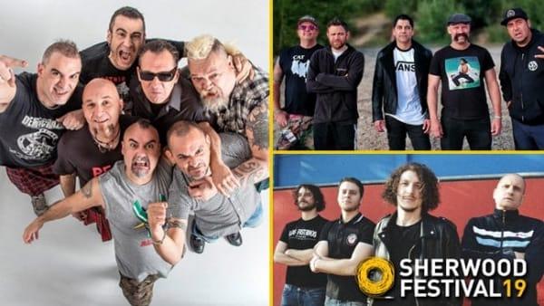 SKA-P+ Zebrahead e Los Fastidios allo Sherwood Festival