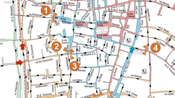 Cartina Ztl Napoli.Disegnata La Nuova Mappa Della Ztl Da Fine Anno Si Parte Un Investimento Di Quasi Settecentomila Euro
