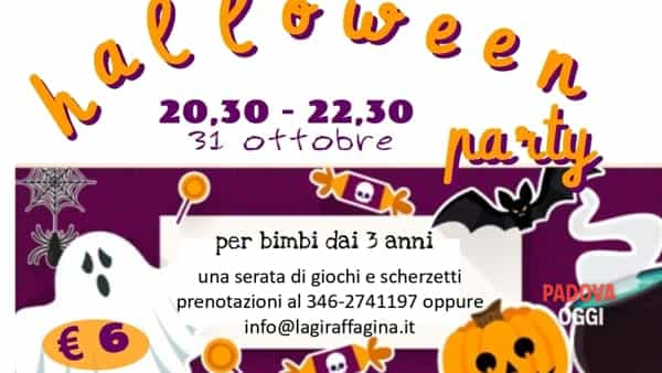 "Halloween Party presso ""La giraffa Gina"""