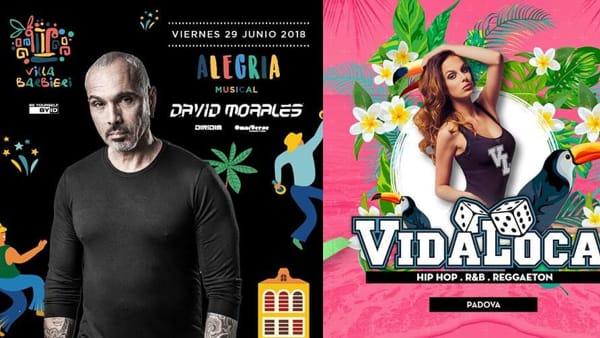 Il weekend di Villa Barbieri: David Morales dj e Vida Loca Summer Tour