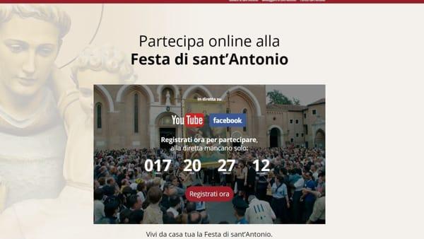 Festa di Sant'Antonio: ecco come partecipare alla manifestazione online