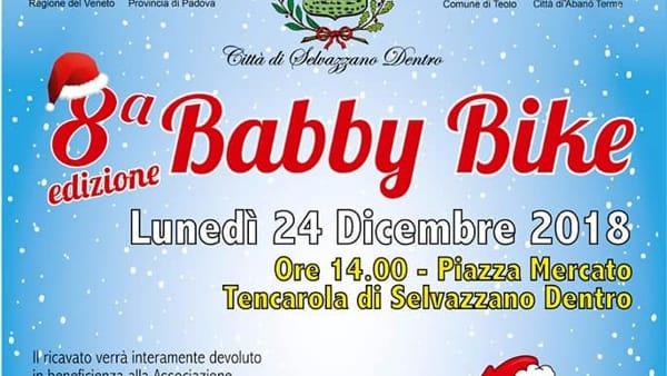 """Babby Bike, la pedalata dei """"babbi natale"""" per Team for Children"""