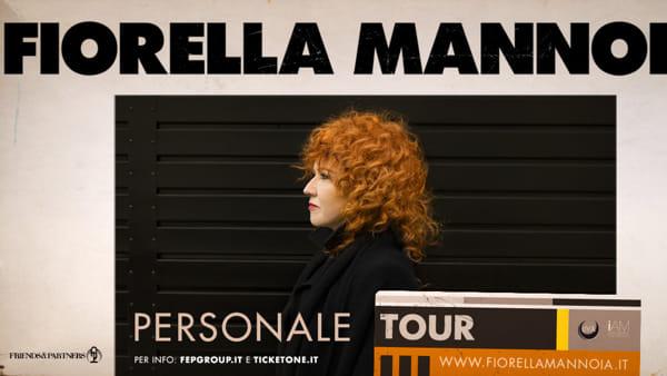 """Fiorella Mannoia """"Personale Tour"""" al Gran Teatro Geox"""