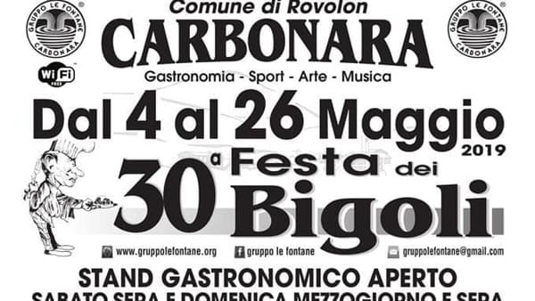 Festa dei Bigoli a Carbonara di Rovolon
