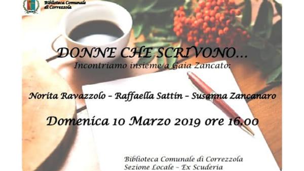 Vivo elemento e altre poesie di Susanna Zancanaro incontro alla biblioteca di Correzzola