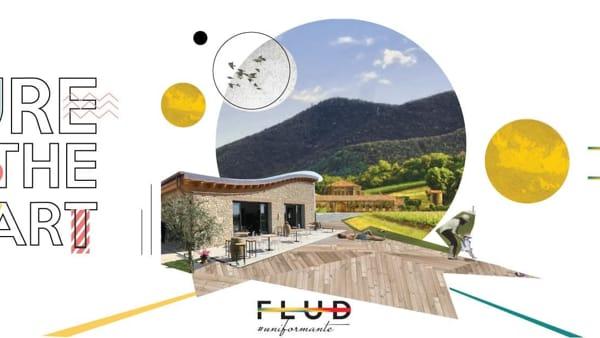 """Aperitivo FLUD """"Refle/ctions"""": arte, musica Live e vino alla cantina Loreggian di Arquà"""
