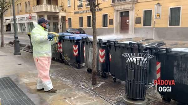 """Padova, l'ultima di Marzo ai tempi della """"quarantena"""""""