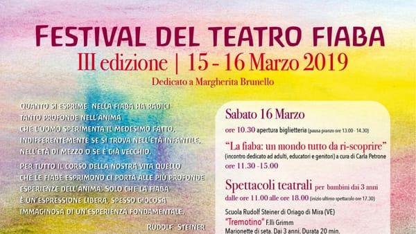 Festival del teatro fiaba alla scuola Waldorf Sophia