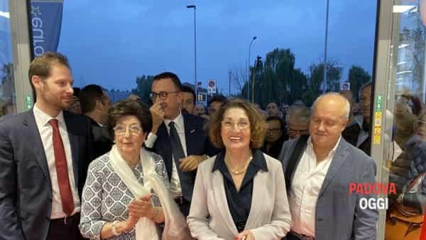 Inaugurazione Euronics-Bruno, Bressa: «Siamo orgogliosi che abbiate voluto investire a Padova»